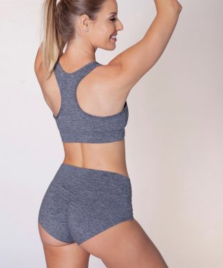 dushko bra tribal gray