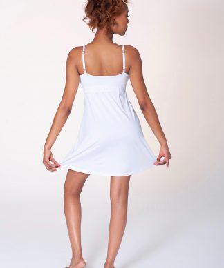 dushko dress oh lala white