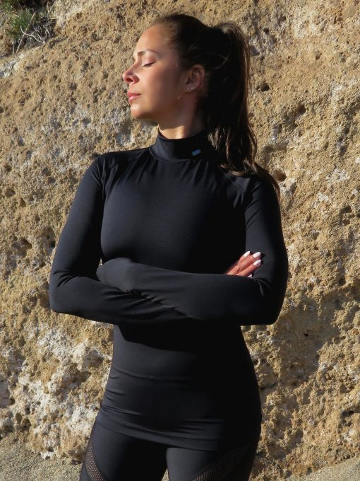 dushko shirt rey mesh black