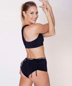 dushko shorts burlesque black