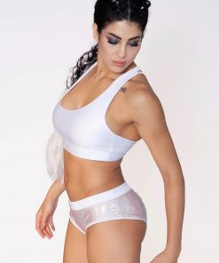 dushko shorts joy mystique white